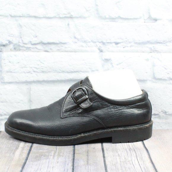 BOSTONIAN ELEMENTS Monk Strap Loafers Size 8